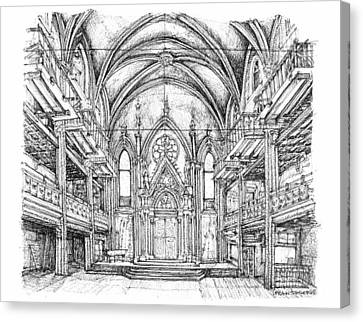 Angel Orensanz Venue In Nyc Canvas Print by Building  Art