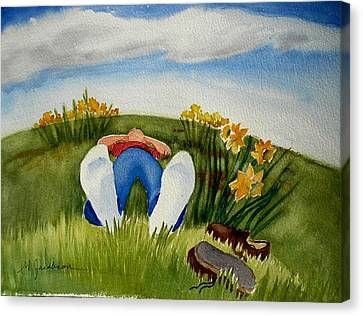 Daydreaming Canvas Print by Marilyn Jacobson
