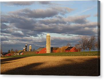 Shades Of Evening Canvas Print by Doug Hoover