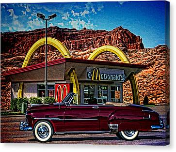 1951 Chevrolet Convertible Canvas Print by Tim McCullough