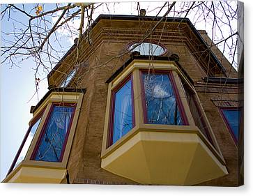 Building Looking Up Canvas Print by Terry Thomas