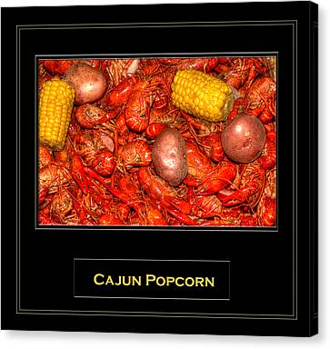 Cajun Popcorn Canvas Print by Barry Jones