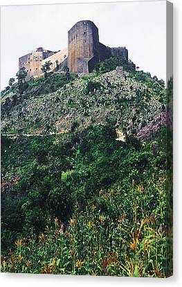 Citadelle Of Henry Christophe Canvas Print by Johnny Sandaire