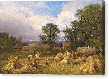 Harvest Time Canvas Print by GV Cole