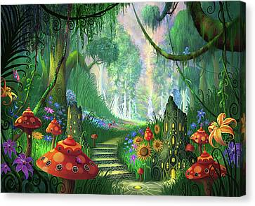 Hidden Treasure Version 2 Canvas Print by Philip Straub