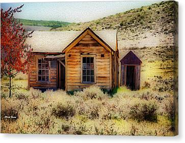 Homestead 2 Canvas Print by Cheryl Young