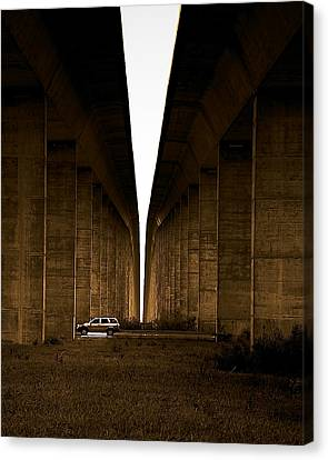 Into The Light Canvas Print by Patrick Biestman