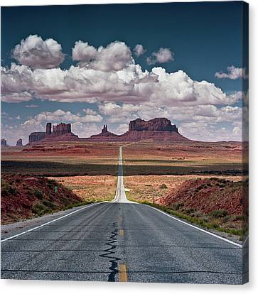 Monument Valley Canvas Print by BrusselsImages