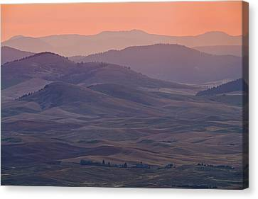 Palouse Morning From Steptoe Butte Canvas Print by Donald E. Hall