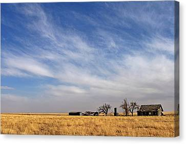 Prarie House Canvas Print by Peter Tellone