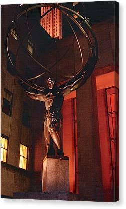 Prometheus At Night Canvas Print by Alton  Brothers