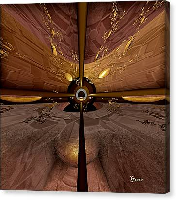Propelling Forward Canvas Print by Julie Grace