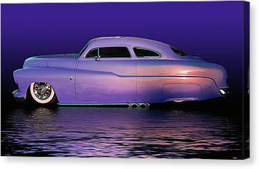 Purple Sled Canvas Print by Bill Dutting