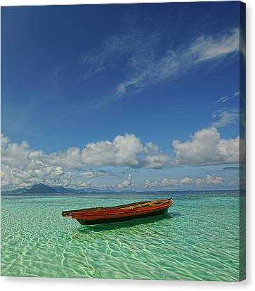 Sabah - Semporna Canvas Print by By Toonman