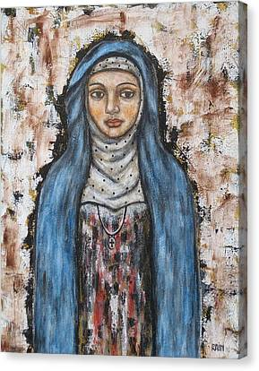 St. Monica Canvas Print by Rain Ririn