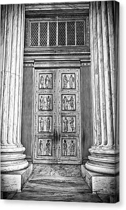 Supreme Court Building 12 Canvas Print by Val Black Russian Tourchin