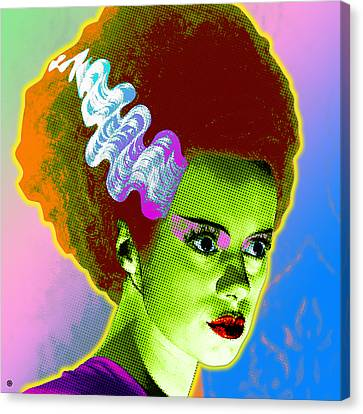 The Monster's Bride Canvas Print by Gary Grayson