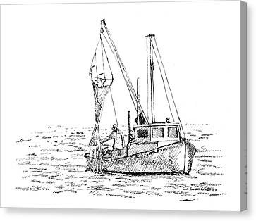 The Vessel Little Jim Canvas Print by Dominic White