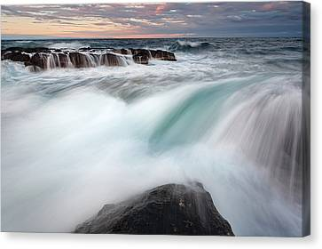 The Wave Canvas Print by Evgeni Dinev