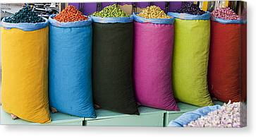Variety Is The Spice Of Life Canvas Print by Marion Galt