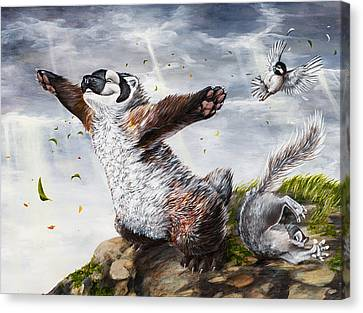 Windy Day Canvas Print by Beth Davies