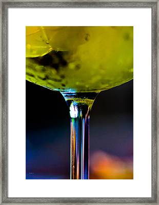 Fire And Ice Framed Print by Mitch Shindelbower