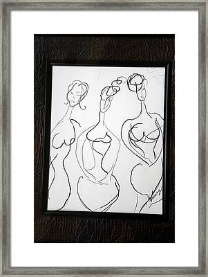 The Singers Framed Print by Nataliya Yutanova