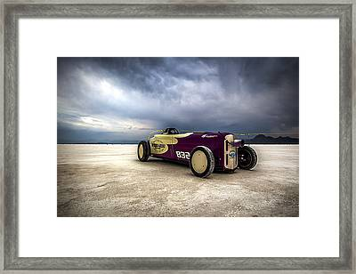 Speed Week Photography And Images By Holly Martin Framed Print by Holly Martin