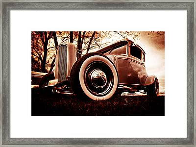 1930 Ford Model A Framed Print by Phil 'motography' Clark
