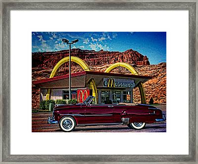 1951 Chevrolet Convertible Framed Print by Tim McCullough