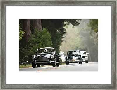 1959 Aston Martin Db Mk IIi Tickford Drophead Coupe Framed Print by Jill Reger