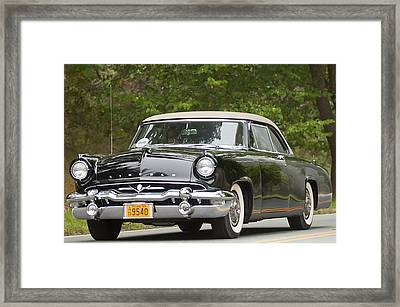 1953 Lincoln Capri Derham Coupe Framed Print by Jill Reger