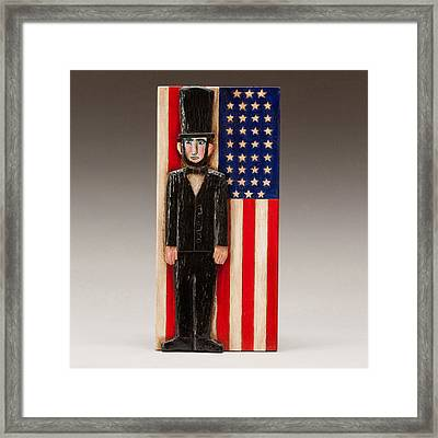 Abraham Lincoln Framed Print by James Neill