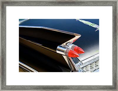 Caddy Fin Framed Print by Terry Thomas