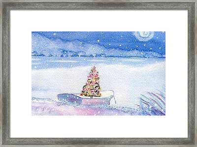 Cape Cod Christmas Tree Framed Print by Joseph Gallant