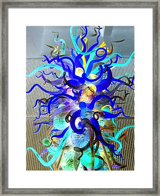 Chihuly Invert Framed Print by Randall Weidner