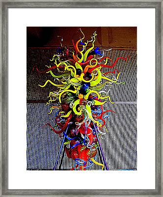 Chihuly Palm Springs 1 Framed Print by Randall Weidner