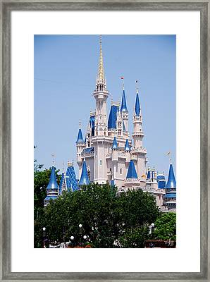 Cindrella's Castle Framed Print by Thea Wolff