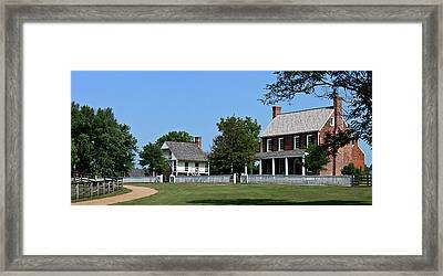 Clover Hill Tavern Appomattox Court House Virginia Framed Print by Teresa Mucha