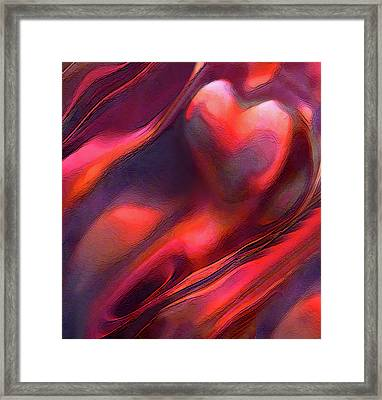 Dry Canyons Of The Heart Framed Print by Terril Heilman
