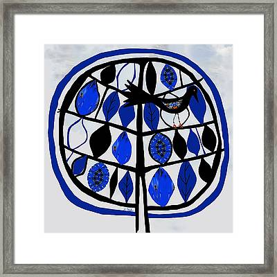 For The Love Of Trees Framed Print by Barbara Drake