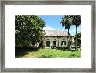 Greathouse Framed Print by Dennis Stein