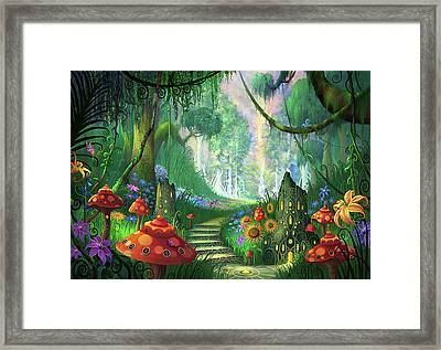 Hidden Treasure Version 2 Framed Print by Philip Straub