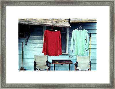 His And Hers Framed Print by Tim Nichols
