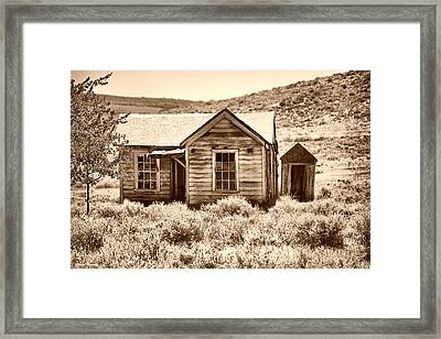 Homestead Framed Print by Cheryl Young