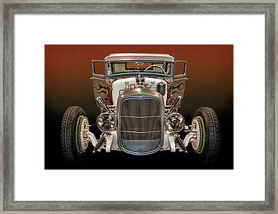Hot Rod Lincoln Too Framed Print by Bill Dutting