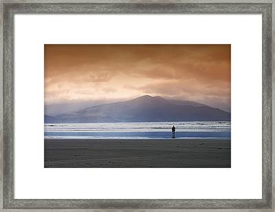 Inch Strand Framed Print by Richard Allen