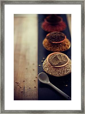 Indian Spice Framed Print by Shovonakar