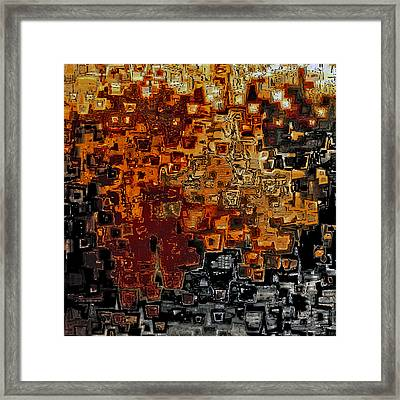 Jesus Christ The Counselor Framed Print by Mark Lawrence