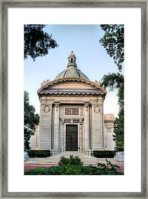 Naval Academy Chapel Framed Print by JC Findley